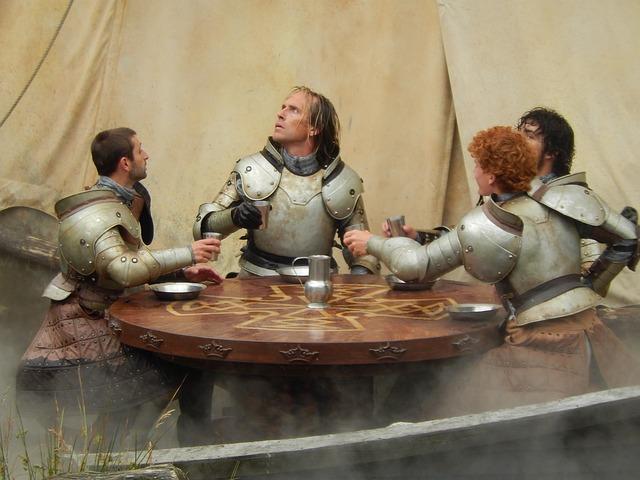 Ritter im Mittelalter